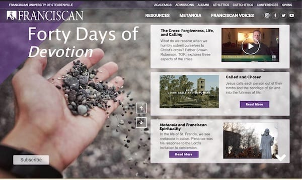 40 Days of Devotion Site Image